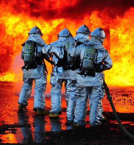 sistema de autoprotección capacitación bomberos